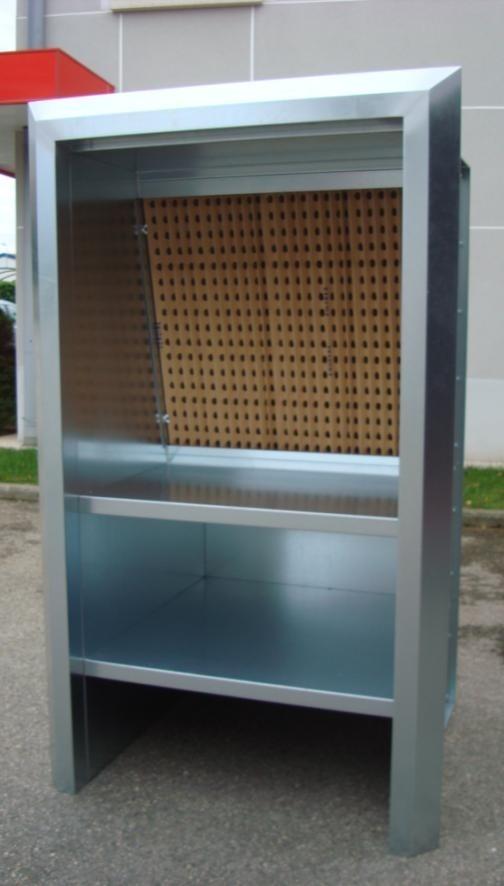 Mini cabine de vernis à filtre secs