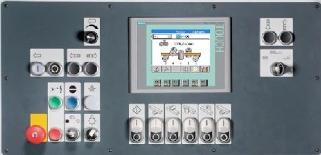 La commande Basic TSN permet une installation rapide et en toute sécurité de la raboteuse et moulurière TSN.
