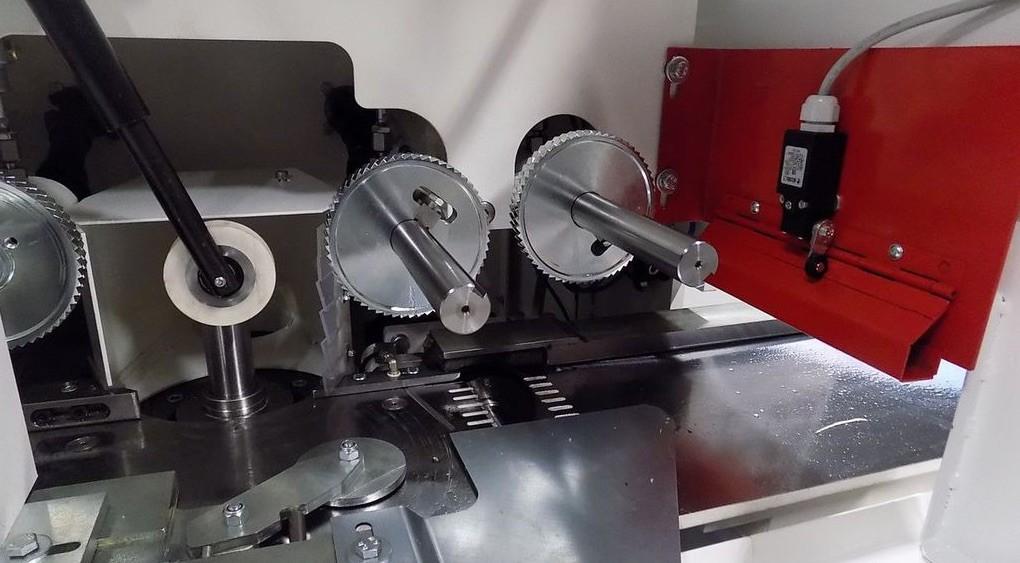 Système coussin d'air et lubrification du plan de travail