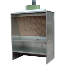 Cabine de préparation à filtre secs