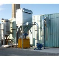 Filtration et réseau pour l'aspiration de particules de bois et de plomb