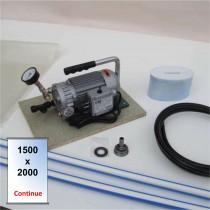 Kit - pompe - poche 1500 x 2000 - continue