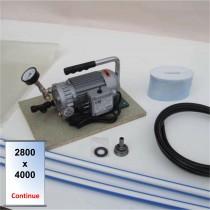 Kit - pompe - poche 2800 x 4000 - continue